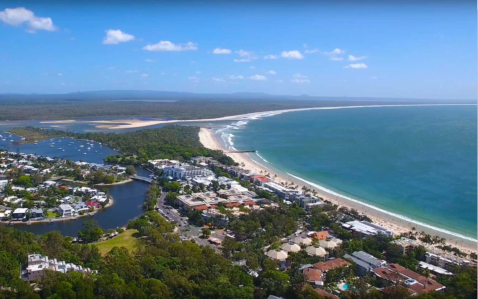 Brisbane Airport to Noosa